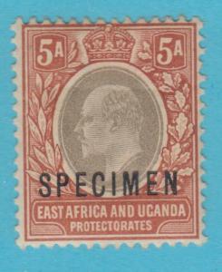 BRITISH EAST AFRICA 7 - SPECIMEN O/P - MINT HINGED OG *  NO FAULTS VERY FINE !