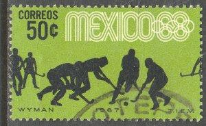 MEXICO 983, 50c Hockey 3rd Pre-Olympic Set 1967. Used. VF. (644)