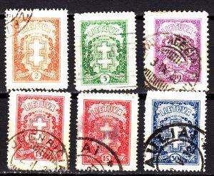 Lithuania 233-40 used set
