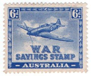 (I.B) Australia Cinderella : War Savings 6d