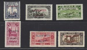 Alaquites, 25//32, Overprinted Singles, Hinged