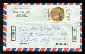 p291 - TAIWAN China Airmail Cover to USA