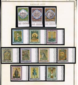 ITALY STAMP VATICAN MINT STAMP COLLECTION LOT #T5