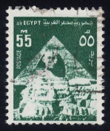 Egypt #900 Sphinx and Middle Pyramid, used (0.50)
