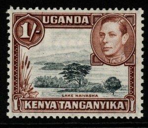 KENYA, UGANDA & TANGANYIKA SG145 1938 1/= BLACK & YELLOWISH-BROWN MTD MINT