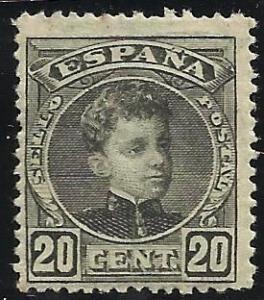 Spain 1901 Scott# 278 MH