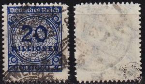GERMANY REICH [1923] MiNr 0319 BP ( O/used ) [01] geprüft