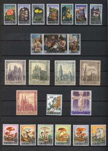 1967 - SAN MARINO - Complete year set - Scott #654 and others - MNH**