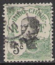 Indo-China #44 Annamite Girl Used