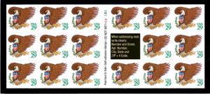 #2596a Mint,OG,NH... Booklet Pane... SCV $10.50