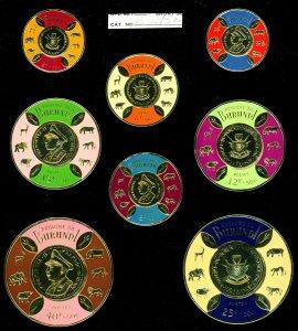 BURUNDI Stamps Nice Collection All MNH-Coin Stamps-Diamond Stamps - Christmas