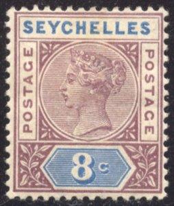 Seychelles, Scott #6a, Unused, Hinged