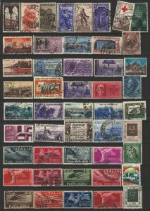 COLLECTION LOT # 52L ITALY 108 STAMPS CLEARANCE