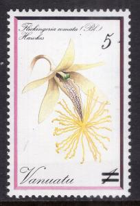 Vanuatu 583 Flower MNH VF