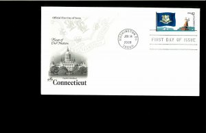 2008 FDC Flags of Our Nation Washington DC
