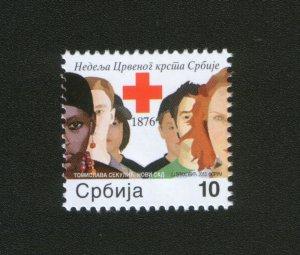 SERBIA-MNH** STAMP-RED CROSS-2013.