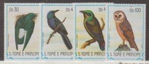 St. Thomas & Prince Islands Scott #745-748 Stamps - Mint NH Set