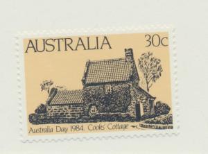 Australia Scott #889, Mint Never Hinged MNH, Cooks Cottage, Australia Day Iss...
