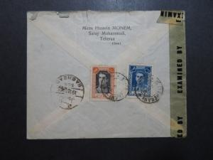 Persia 1945 Censor Cover to Baghdad / Creasing / US SHIPPING ONLY - Z10138