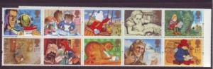 Great Britain  Sc 1538-7 1994 Greetings stamp set mint NH