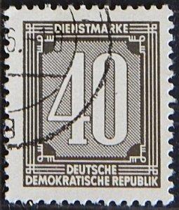 DDR, Germany, (1608-Т)