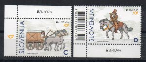 SLOVENIA - EUROPA - 2020 - ANCIENT POSTAL ROUTES -