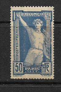 FRANCE, 201, MINT HINGED, CREASES, VICTORIOUS ATHLETE