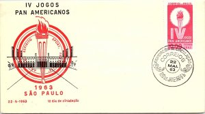 Brazil, Worldwide First Day Cover, Sports