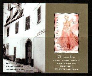 Gibraltar #739  MNH  Scott $4.00   Souvenir Sheet