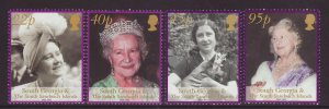 2002 South Georgia Queen Mother Set Unmounted Mint  SG344/347