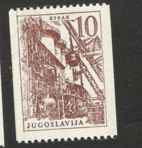 YUGOSLAVIA-MNH STAMP-DEFINITIVE-1961.