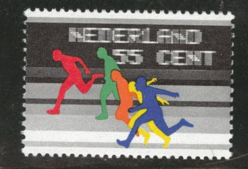 Netherlands Scott 559 MNH** 1976 runner stamp