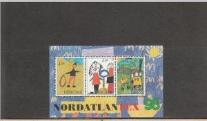 FAROE ISLANDS 304 SOUVENIR SHEET MNH 2014 SCOTT CATALOGUE VALUE $3.50