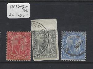 MONTSERRAT  (P2912B)  SG 36, 38-9  VFU