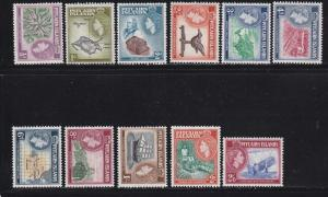 Pitcairn Is Scott #'s 20 - 30  set VF lightly hinged mint  cv $ 64 ! see pic !