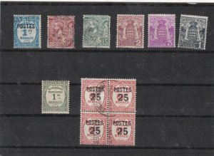 monaco early stamps  Ref 9263