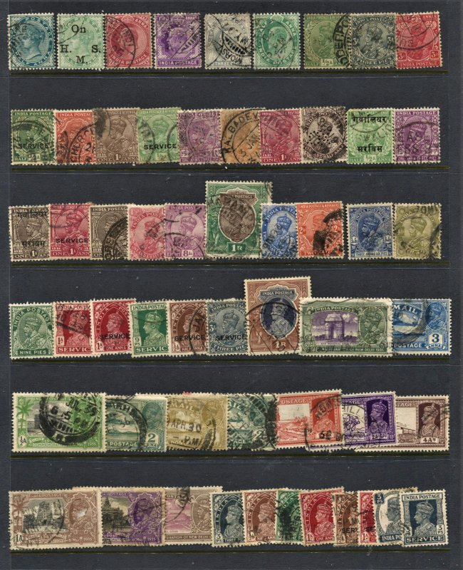 STAMP STATION PERTH India #56 Used Selection - Unchecked