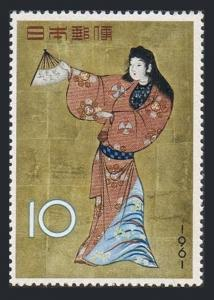 Japan 728,MNH.Michel 767. Dancing Girl from a Screen of Dancers.Stamp Week 1961.