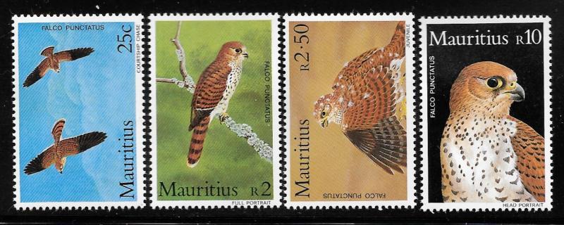 Mauritius  Scott #583-586 Mint H  Scott Cv $17.55