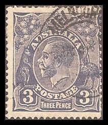 Australia 30 Used F cr