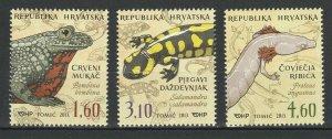 Croatia 2013 Fauna Animals Frogs 2 MNH stamps