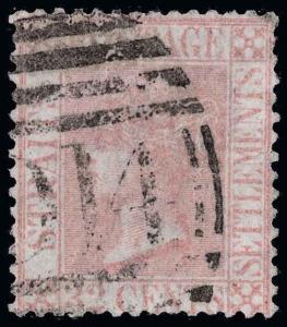 Straits Settlements Scott 17 Variety Gibbons 18w Used Stamp