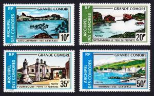 Comoro Is. Tourism Great Comoro Landscapes 4v SG#132-135 SC#107-110