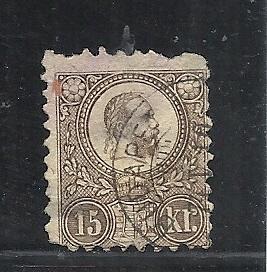 Hungary #11 used cv $15.00