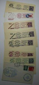COMPEX Sta Chicago IL  Mailers Postmark Permit Philatelic Cover