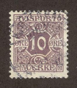 DENMARK SC# P4 F-VF U 1907