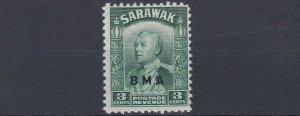 SARAWAK     1945     S G 128   3C  GREEN     MNH