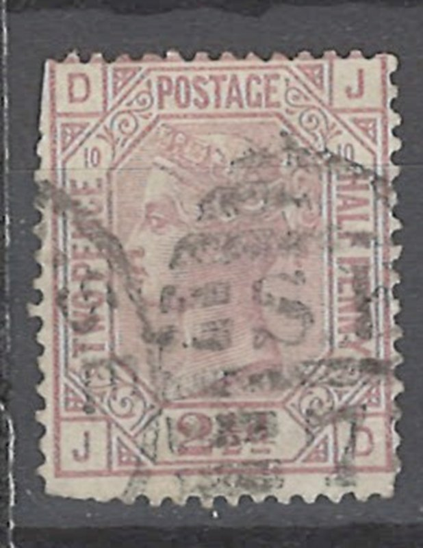 COLLECTION LOT # 2233 GREAT BRITAIN #67p10 FAULTY 1876 CV=$75