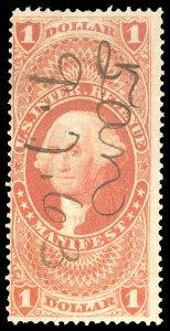 U.S. REV. FIRST ISSUE R72c  Used (ID # 79934)