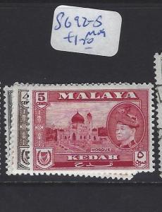 MALAYA KEDAH (P0707B)  SULTAN 1C-5C   SG 92-5   MOG